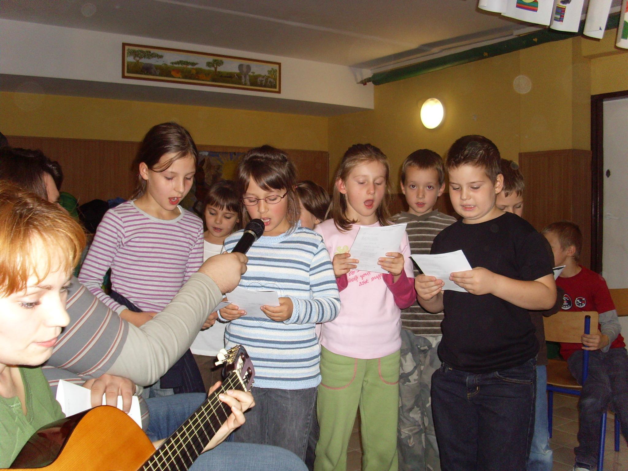 Imprezy Piątkowe klas młodszych