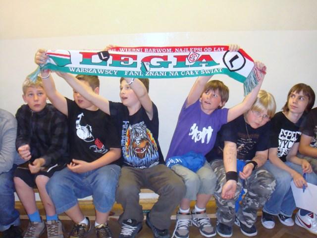 Spotkanie z piłkarzami LEGII 5.05.2009