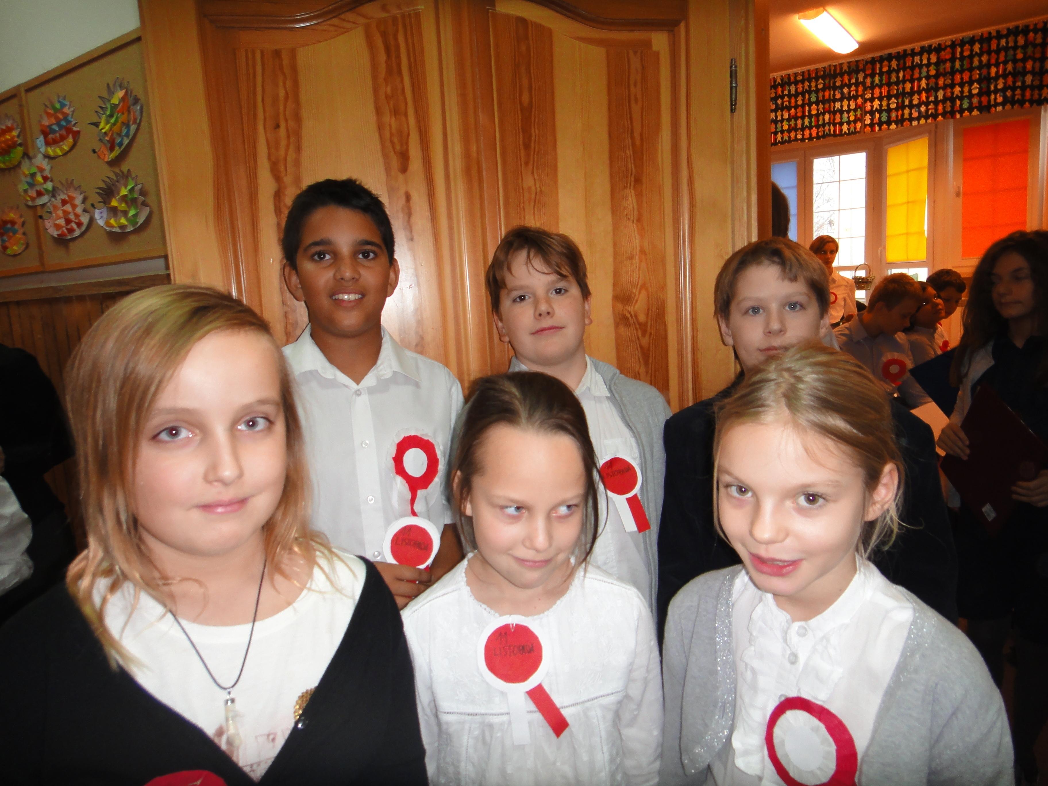 Szkolne obchody Święta Niepodległości 9.11.2012
