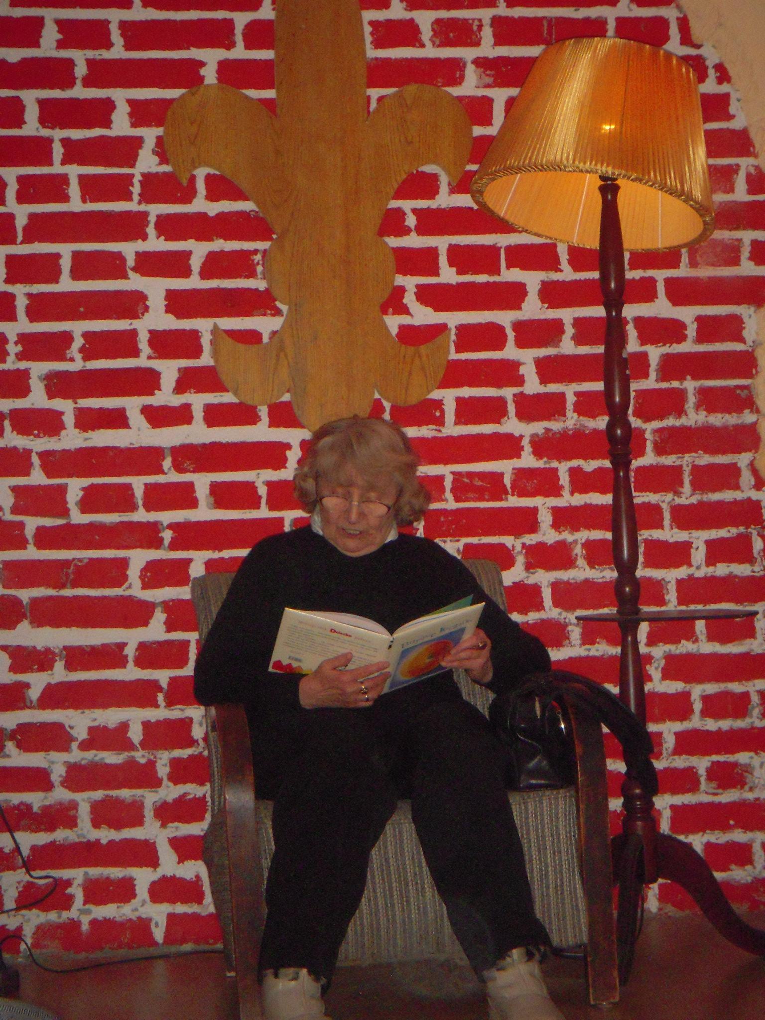 Wspólne czytanie z Panią Barbarą - klasa 2b