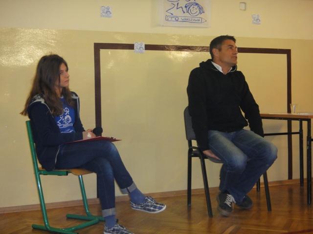 Spotkanie z Krzysztofem Hołowczycem 8.03.2013