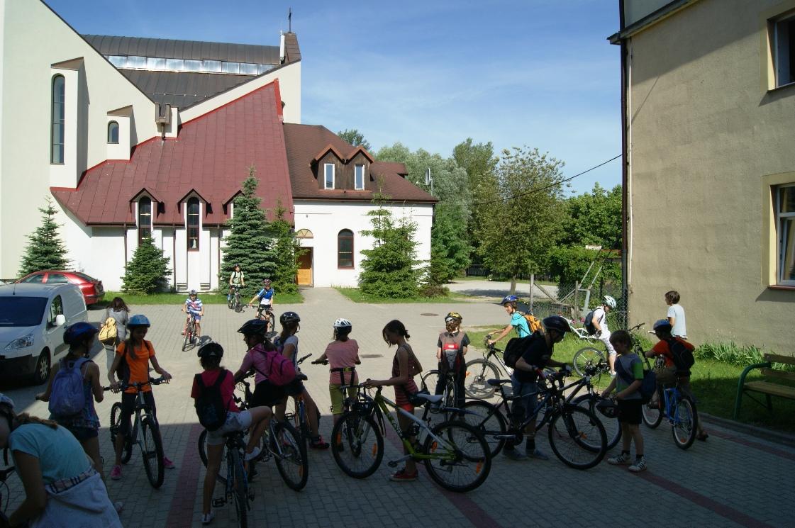 Wycieczka rowerowa klas V