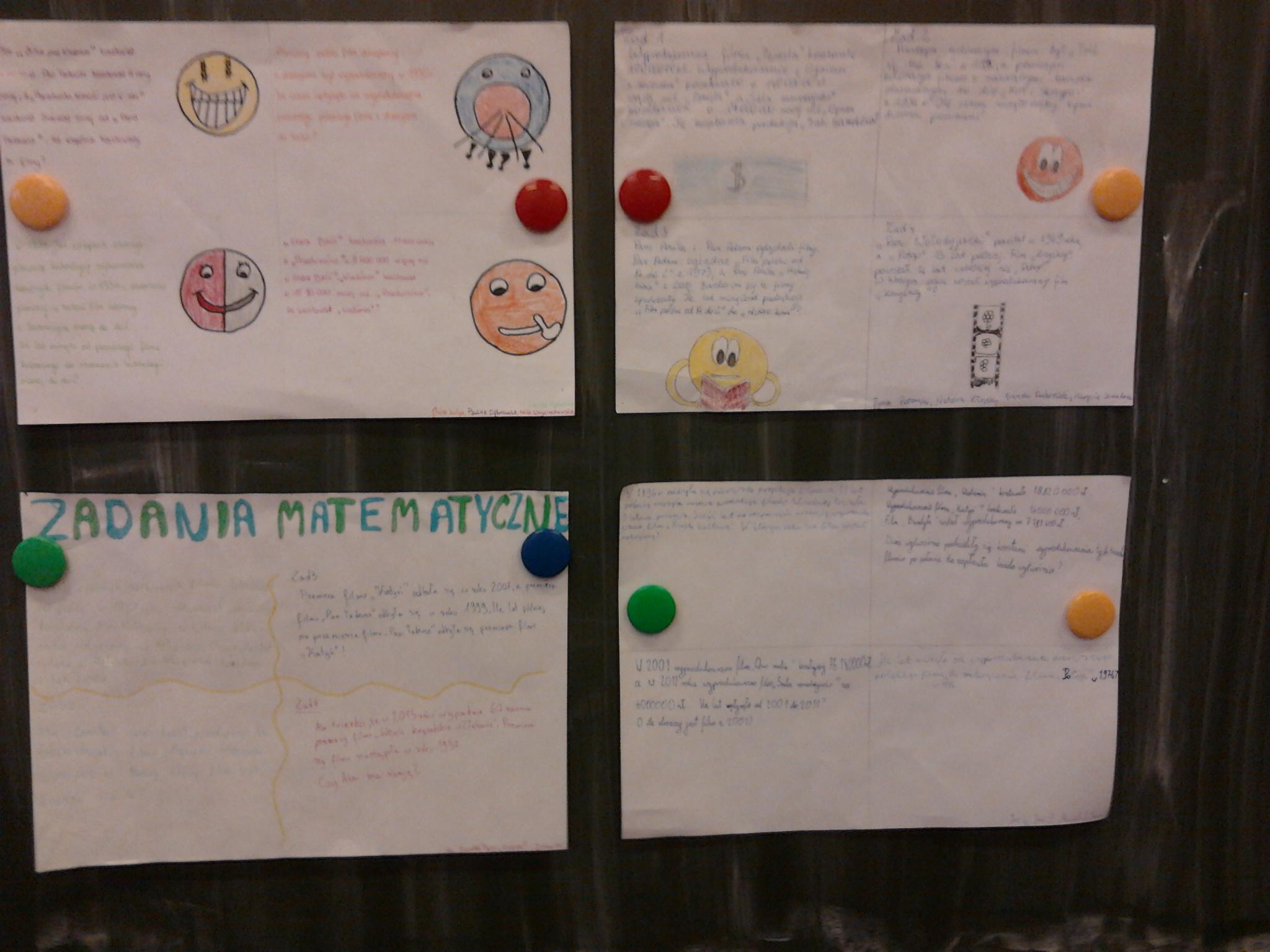 Matematyka w klasie 5 i 6 - projekt 1