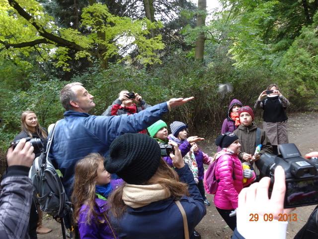 2013 - Obserwacja ptakow w Łazienkach
