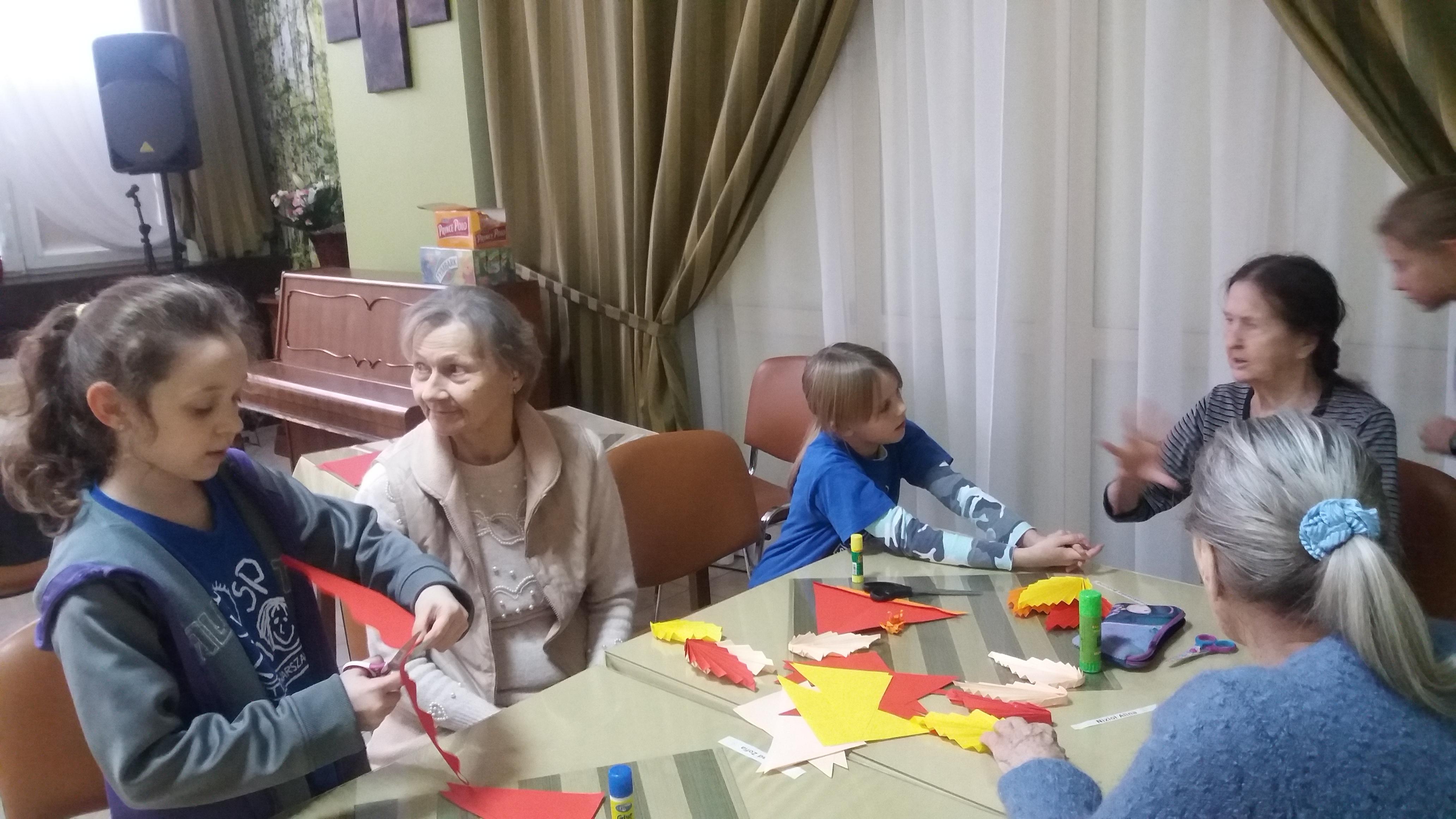 Pierwsze spotkanie origami