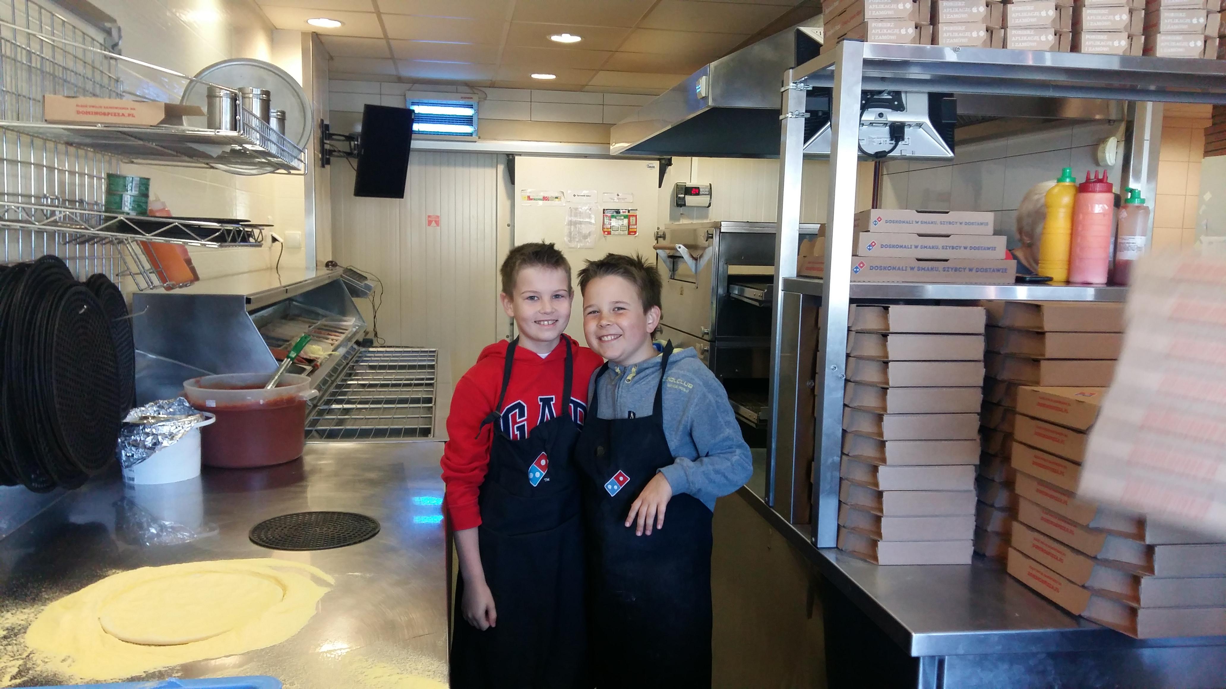 2018-04-18 - klasa 4c w Dominos Pizza